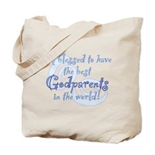 Blessed Godparent BL Tote Bag