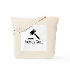 """Judges Rule"" Tote Bag"