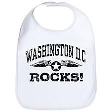 Washington DC Rocks Bib