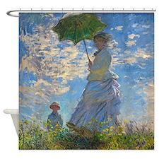 Monet - Parasol Shower Curtain