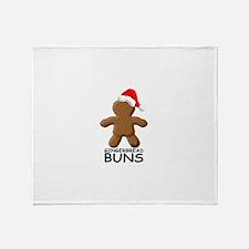Buns Throw Blanket