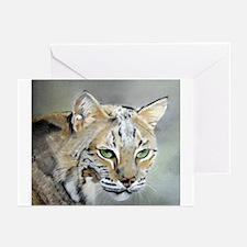 Bobcat - Pastel Drawing Greeting Cards (Pk of 10)
