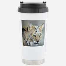 Bobcat - Pastel Drawing Travel Mug