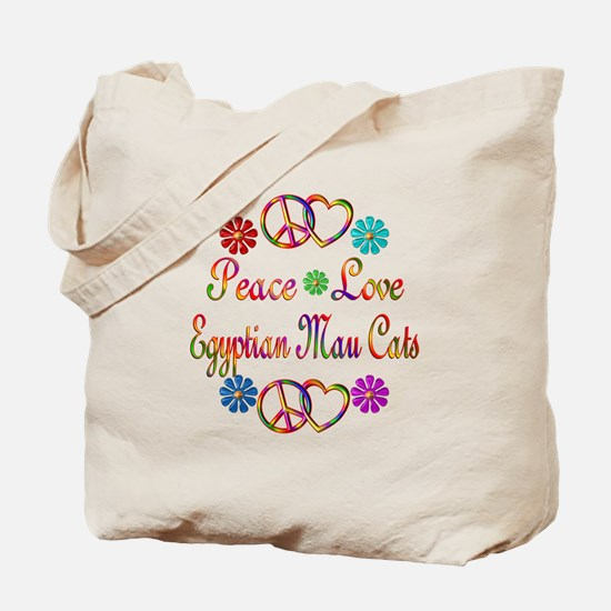 Egyptian Mau Cats Tote Bag