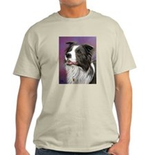 Pastel Painting of Border Collie Dog T-Shirt