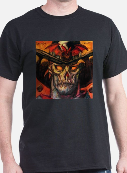 Nocturnals double-sided Ash Grey T-Shirt T-Shirt