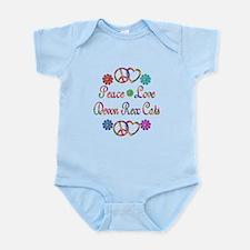 Devon Rex Cats Infant Bodysuit