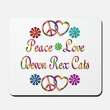 Devon Rex Cats Mousepad