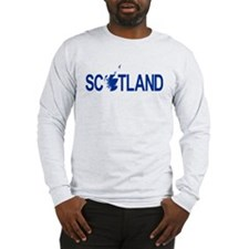 Scotland Map 1 Long Sleeve T-Shirt