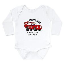 Future Race Car Driver Cute Baby Boy bodysuit Body