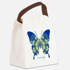 Samadhi Butterfly Canvas Lunch Bag
