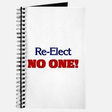 Re-Elect NO ONE! Journal