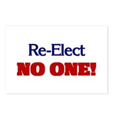 Re-Elect NO ONE! Postcards (Package of 8)