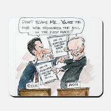 Paul Ryan VS Todd Akin HR13 Mousepad