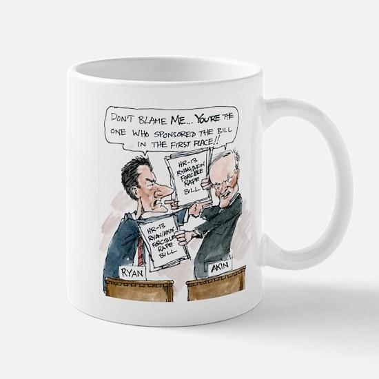 Paul Ryan VS Todd Akin HR13 Mug