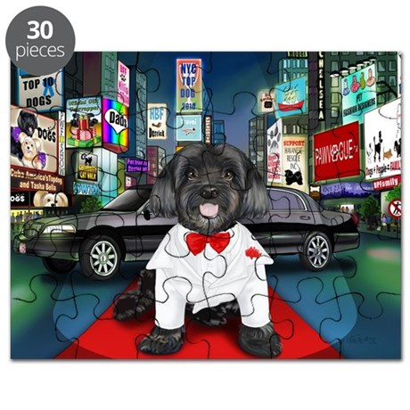Sir Cuba of Chelsea in Times Square NYC Puzzle