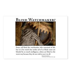 ID Blind Watchmaker Postcards (Package of 8)