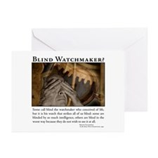 ID Blind Watchmaker Greeting Cards (Pk of 10)