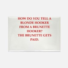 hookers Rectangle Magnet