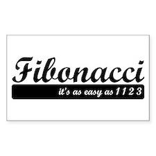 Fibonacci. 1 1 2 3. Decal