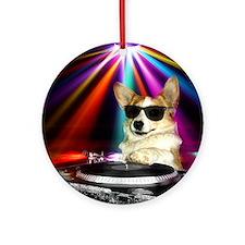 DJ Dott Ornament (Round)