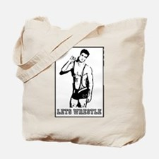 Lets Wrestle Tote Bag