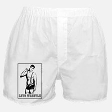 Lets Wrestle Boxer Shorts