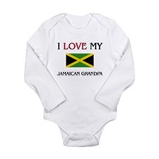 I Love My Jamaican Grandpa Body Suit