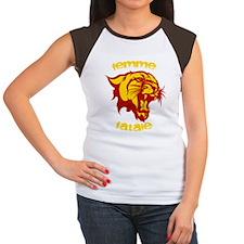 Women's Black Femme Fatale T-Shirt T-Shirt