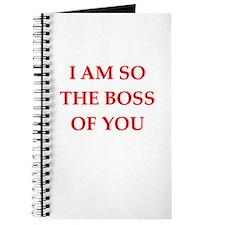 boss joke Journal