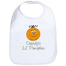 Daddys Little Pumpkin Bib