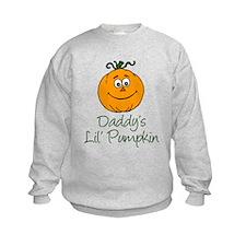 Daddys Little Pumpkin Sweatshirt