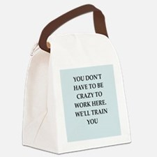 WORK2.png Canvas Lunch Bag