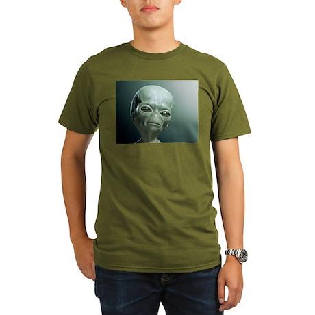 Secret UFO Videos Organic Men's T-Shirt (dark)