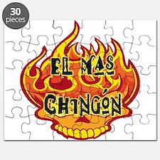 El Mas Chingon Skull Puzzle