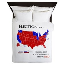election 2012 Queen Duvet