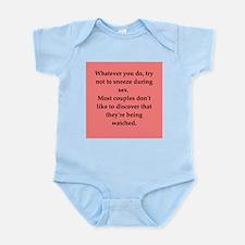 sex joke Infant Bodysuit