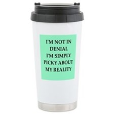 denial Travel Mug