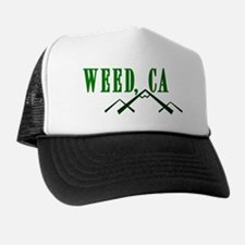 Weed, CA Trucker Hat