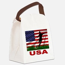 USA Soccer Canvas Lunch Bag