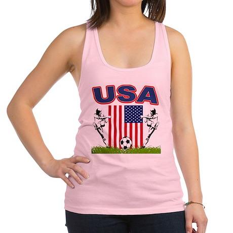 USA Soccer Racerback Tank Top