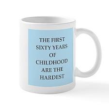 birthday joke Small Mugs