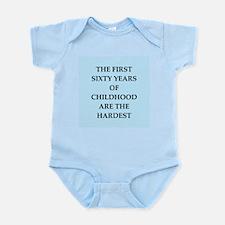 birthday joke Infant Bodysuit