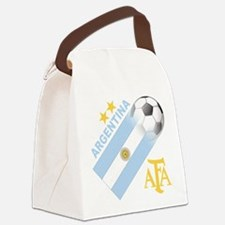 Argentina(blk).png Canvas Lunch Bag
