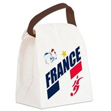 france.png Canvas Lunch Bag