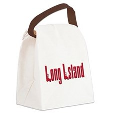 The new yorker(blk).png Canvas Lunch Bag