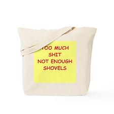 shovels Tote Bag
