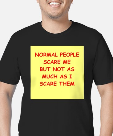 normal Men's Fitted T-Shirt (dark)