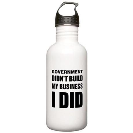 I Built My Business Stainless Water Bottle 1.0L