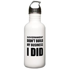 I Built My Business Water Bottle